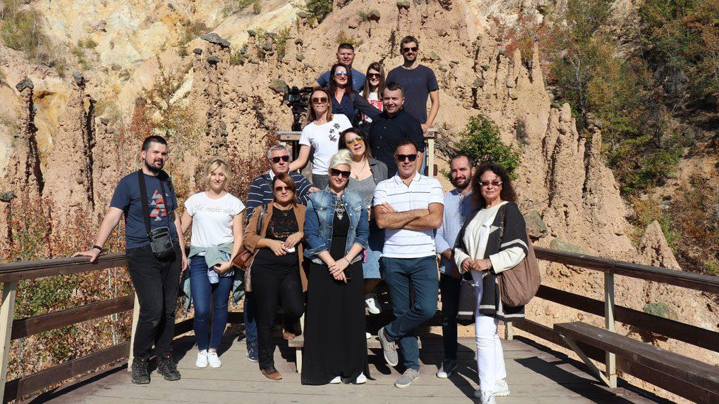 Студијска посета представника ТОС и тима новинара Куршумлији поводом ЕДЕН пројекта