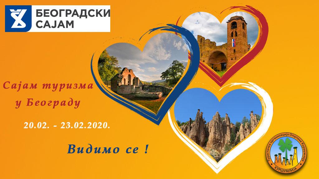 """На сајму туризма под слоганом """"Kуршумлија – Прва престоница Стефана Немање"""""""